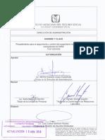 Ausentismo No Programado1A31-003-005 16_NOV_2018