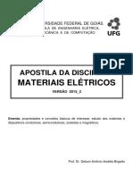Apostila de Materiais Elétricos - Versao 2015-2