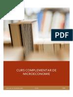 ROSE, Curs Complementar de Microeconomie-2