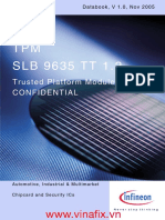 TPM SLB9635TT1.2 Databook