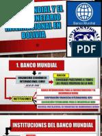 El Banco Mundial y El FMI