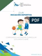 Doc Base Iniciacion Deportiva
