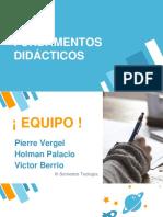 Presentacion Fundamentos Didácticos