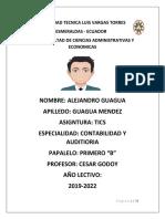 Tics Alejandro