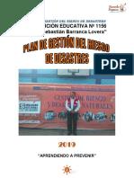 Ediciones Previas Plan de Gestion del  Riesgo de Desastres 2019  - IE N° 1156-JSBL Ccesa007