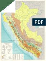 1972 B-001-Mapa Metalogenico Del Perú