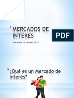 Mercados de Interes