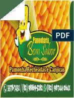 Cartão de Visita Milho Bom Sabor