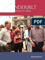 Vanderbilt University Press Spring/Summer 2019 Catalog