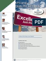 ECA KPIs and Quality Metrics