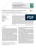 Modeling Pressure Drop Evolution on High Temp Filters