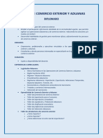 Cursos de Comercio Exterior y Aduanas
