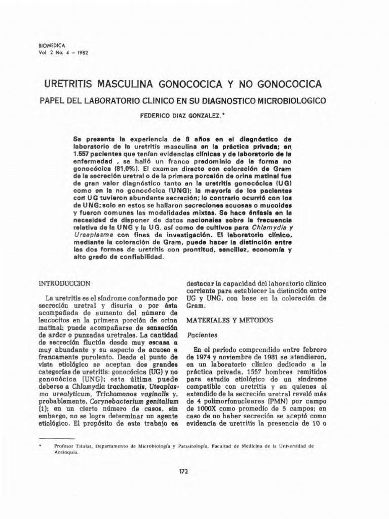 uretritis gonocócica y no gonocócica pdf
