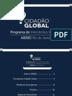 Programa Cidadão Global - Booklet Informativo