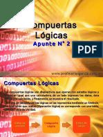 Técnicas Digitales  Apunte 2 - Compuertas Lógicas