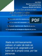 FIJACION DE PRECIO POR COSTO Y VALOR - KOTLER.ppt