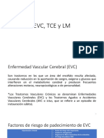 EVC, TCE y LM