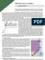 Geografia - Pré-Vestibular Dom Bosco - História de SC