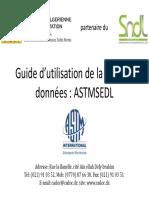 Guide Utilisateur ASTM SEDL