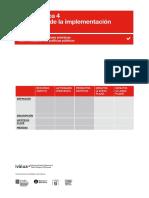 Evaluación de implementación de políticas públicas