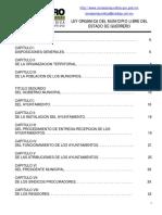 LEY ORGANICA DE LOS MUNICIPIOS DE GRO..pdf