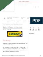 Exercice 4 _ Transfert Avec Descenseur - '