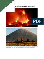 Volcanes Más Activos de Centroamérica