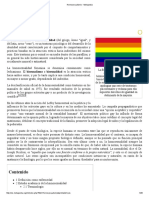Homosexualismo - Metapedia