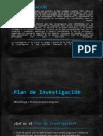 Plan de investigación pdf