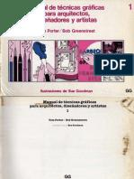 Porter & Greenstreet - MANUAL DE TECNICAS GRAFICAS PARA ARQUITECTOS Y DISEÑADORES ⁞▪AF