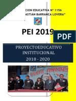 Ediciones Previas  Proyecto Educativo Institucional PEI  2019  - I.E. N° 1156 -JSBL - Ccesa007