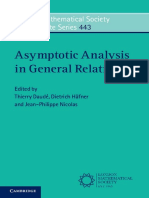 Asymptotic Analysis in General Relativity(1)