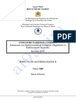 Cnc Maths 2 Mp 2016e