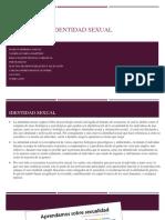 IDENTIDAD SEXUAL-ponencia Magistral.