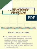 Alteraciones cromosmicas