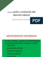 Derecho Laboral Evolución Hist. 1