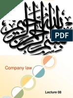 Lecture08 Company Law (8) Ok