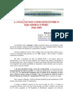 A Aviação nos Conflitos entre o Equador e o Peru 1941-1995 - Roberto Portella Bertazzo
