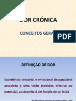 1. DOR - Conceitos Gerais
