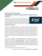 Impositus informa - factura electrónica (sector agro y pesca).pdf