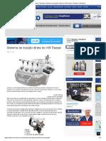 Revista O Mecânico Sistema de Injeção Direta Do VW Passat - Revista O Mecânico