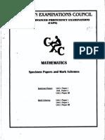 2004 CAPE Pure Mathematics U1 Specimen Papers and Solution.pdf