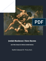Jewish Murderers I have Know...and Other Essays