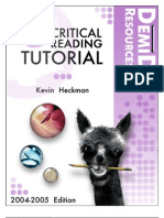 Critical Reading Tutorial
