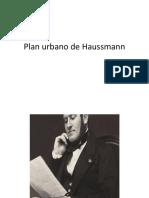 Plan Urbano Haussmann