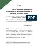 Análise de riscos do uso de um sistema de proteção contra quedas com linha de vida horizontal como proteção de periferia na Construção Civil brasileira
