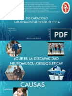 Discapacidad neuromusculoesqueletica