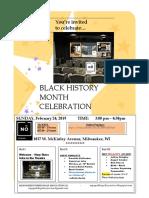 Black History MoNth CelebratioN Aa - AA