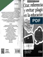 Citar-referenciar y eviatar plagio en la educación.pdf