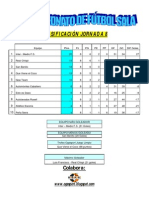 X Campeonato de Fútbol Sala